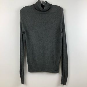Icone for Simons Long Sleeve Turtleneck Sweater in Dark Grey